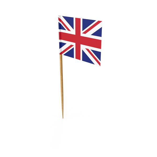 Toothpick British Flag Object