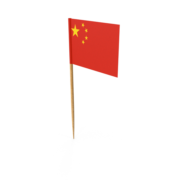 Toothpick Chinese Flag PNG & PSD Images