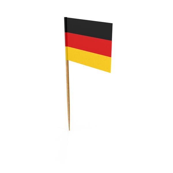 Toothpick German Flag Object