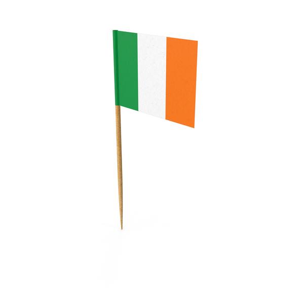 Toothpick Irish Flag Object