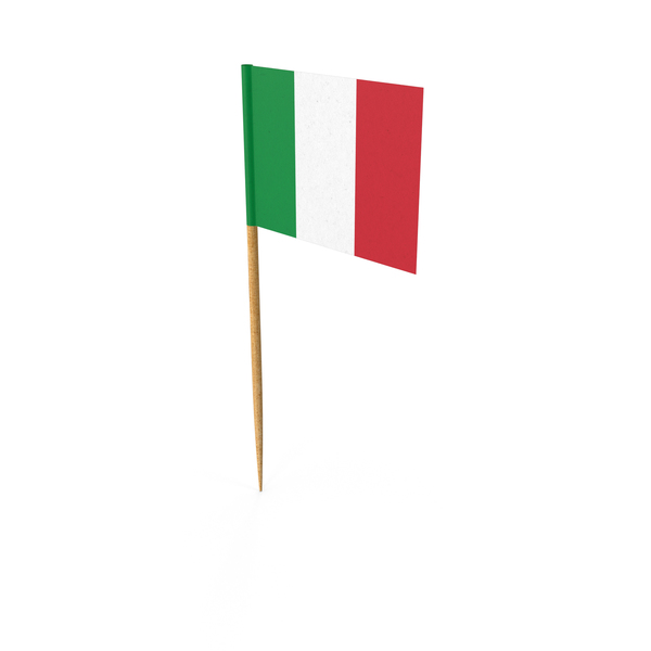 Toothpick Italian Flag PNG & PSD Images