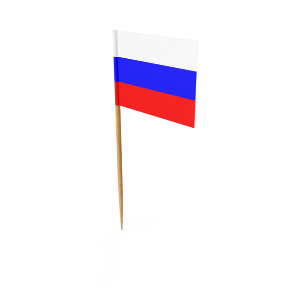 Toothpick Russian Flag PNG & PSD Images