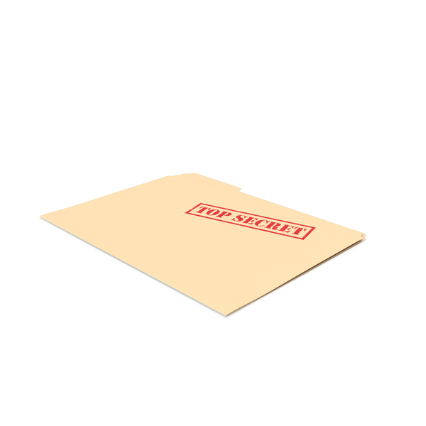Top Secret Folder Empty PNG & PSD Images