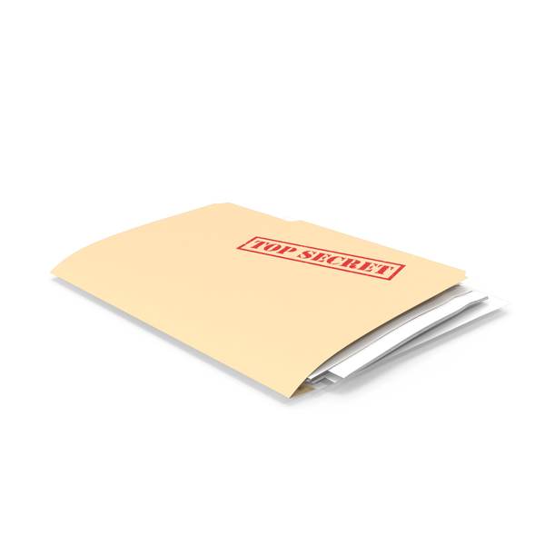 Top Secret Folder PNG & PSD Images