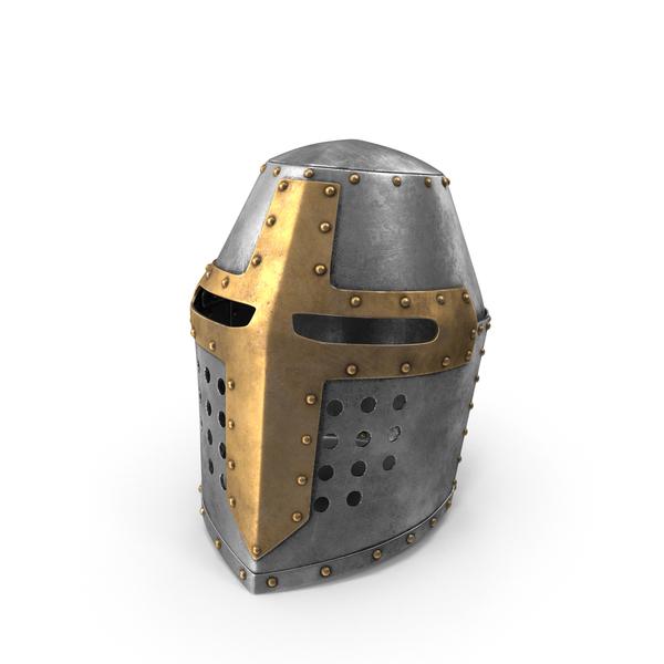 Topfhelm Helmet Object