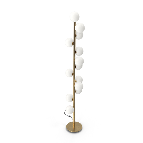Torcher Bubble Stik Cold Floor Lamp PNG & PSD Images
