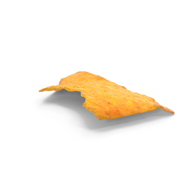 Tortilla Cheese Chip Bitten PNG & PSD Images
