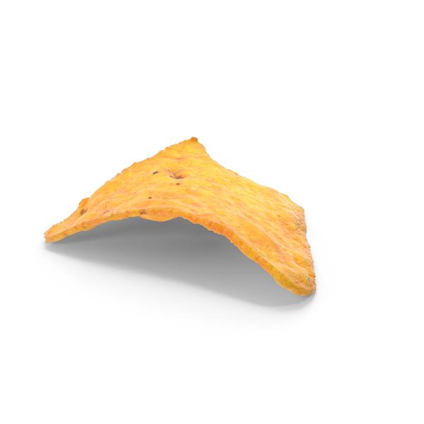 Potato: Tortilla  Chip Bitten PNG & PSD Images