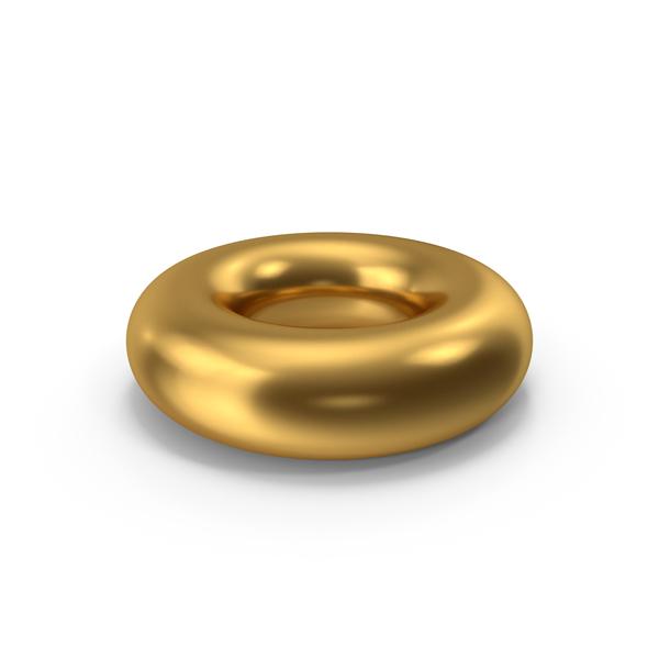 Symbols: Torus Gold PNG & PSD Images