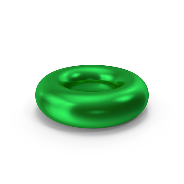 Symbols: Torus Green Metallic PNG & PSD Images