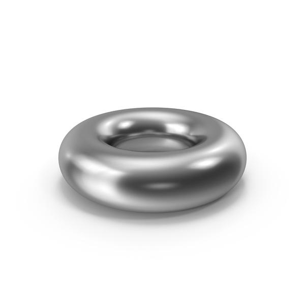 Symbols: Torus Silver PNG & PSD Images