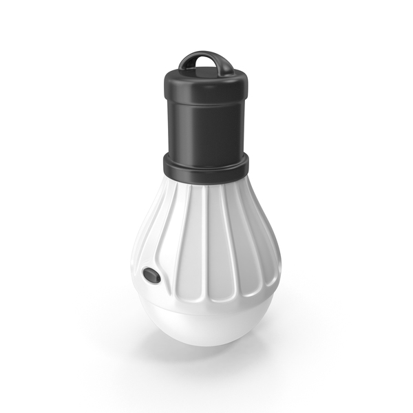 Tourist LED Lamp White PNG & PSD Images