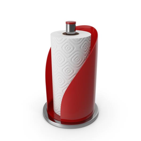 Paper: Towel Holder Red PNG & PSD Images