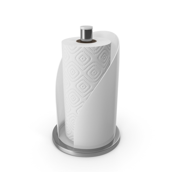 Paper: Towel Holder White PNG & PSD Images