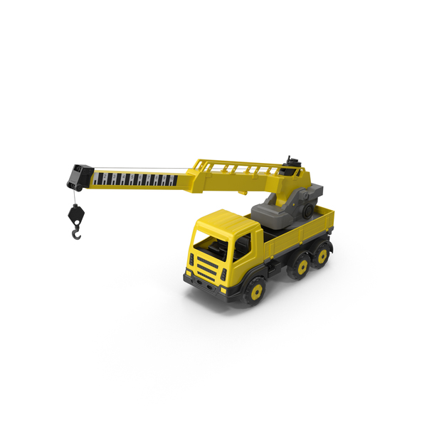 Trucks: Toy Crane PNG & PSD Images