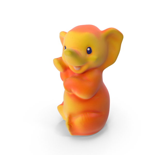 Stuffed: Toy Elephant PNG & PSD Images