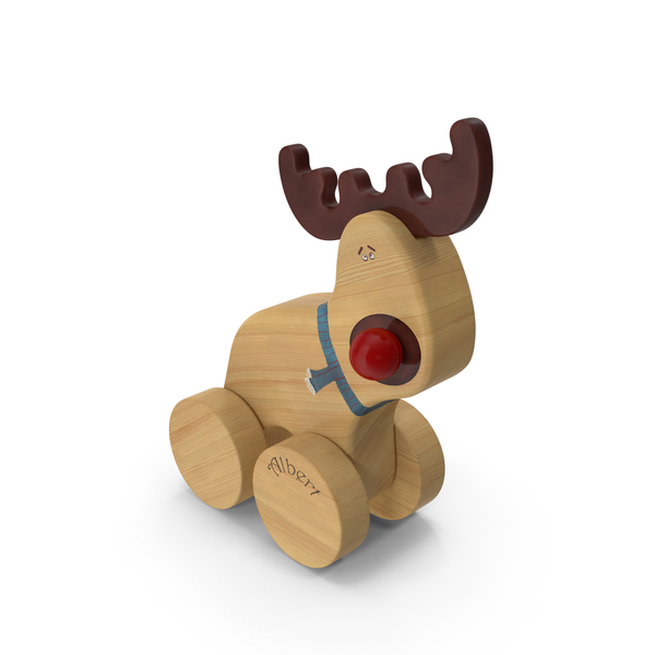 Toy Moose PNG & PSD Images
