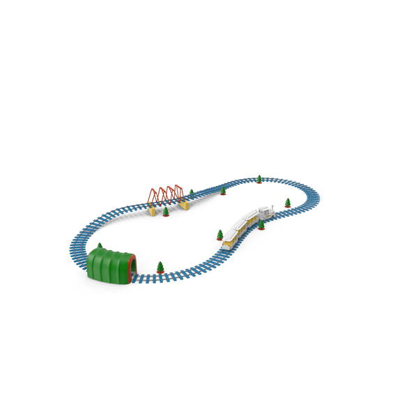 Toy Railroad PNG & PSD Images