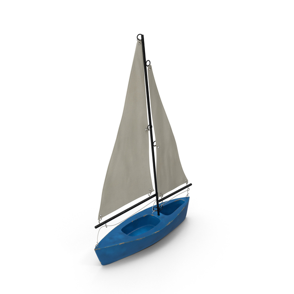 Boat: Toy Sailboat PNG & PSD Images