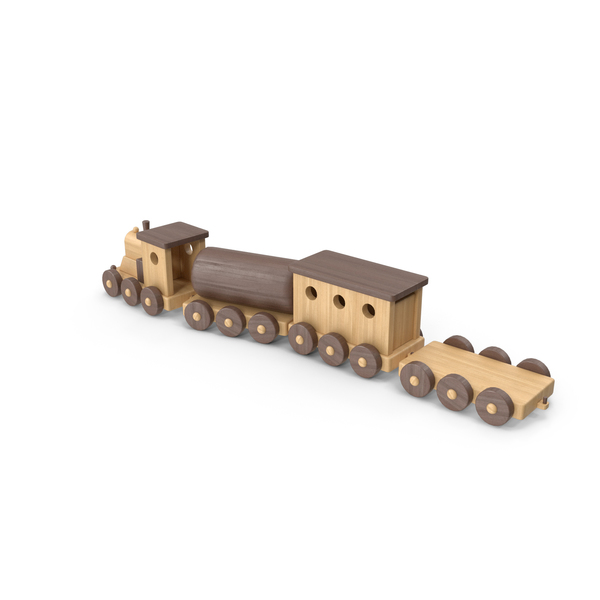 Wooden: Toy Train PNG & PSD Images