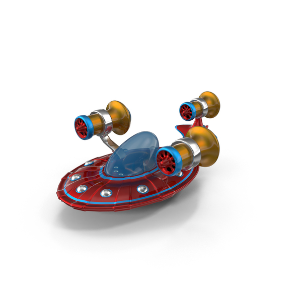 Toy UFO PNG & PSD Images