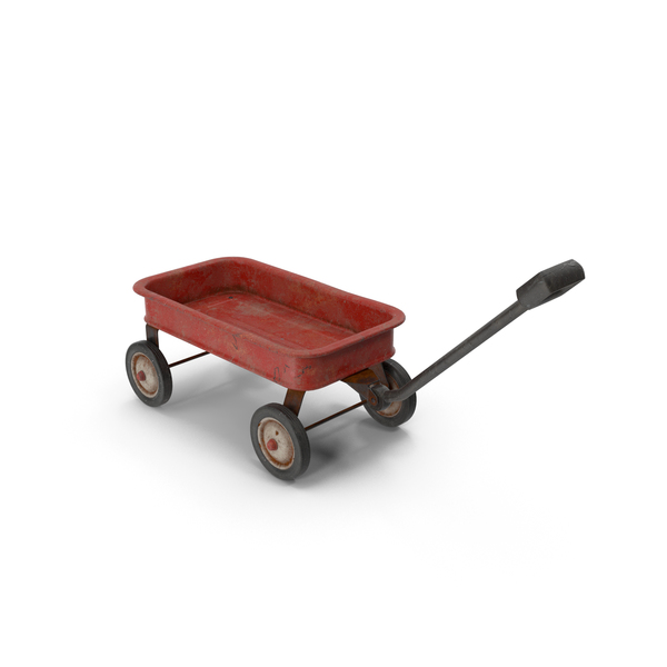 Toy Wagon Rusty PNG & PSD Images