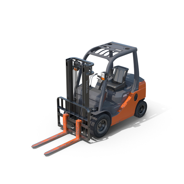Toyota Forklift PNG & PSD Images