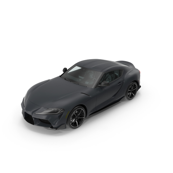 Sports Car: Toyota Supra 2019 PNG & PSD Images