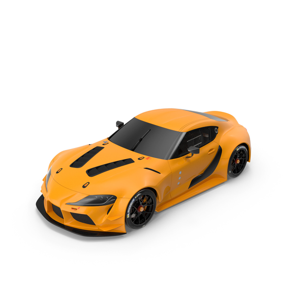 Sports Car: Toyota Supra Concept PNG & PSD Images