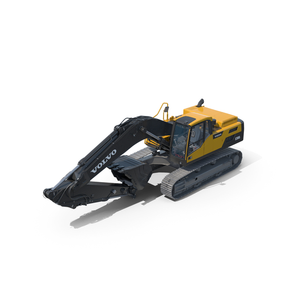 Tracked Excavator VOLVO EC300D PNG & PSD Images