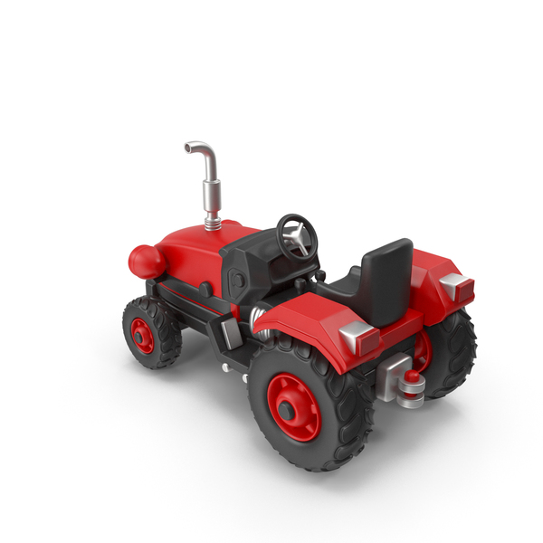 Tractor (Red) PNG & PSD Images