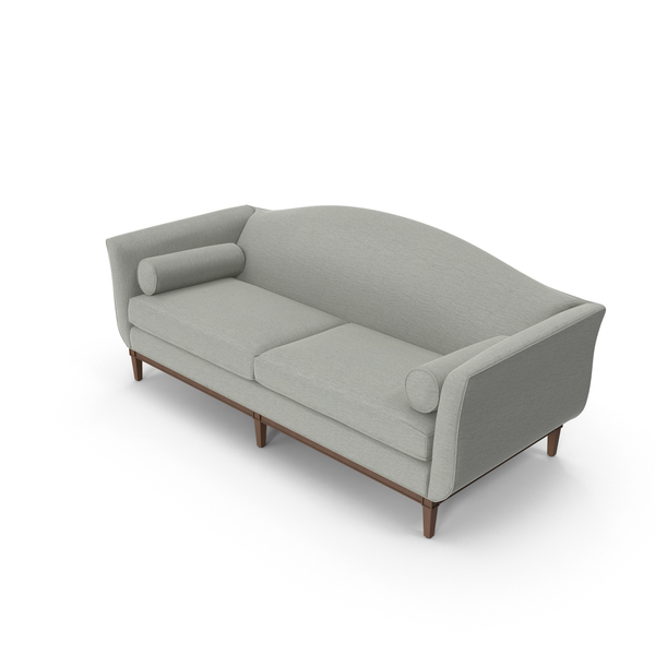 Traditional 2 Seater Sofa PNG & PSD Images