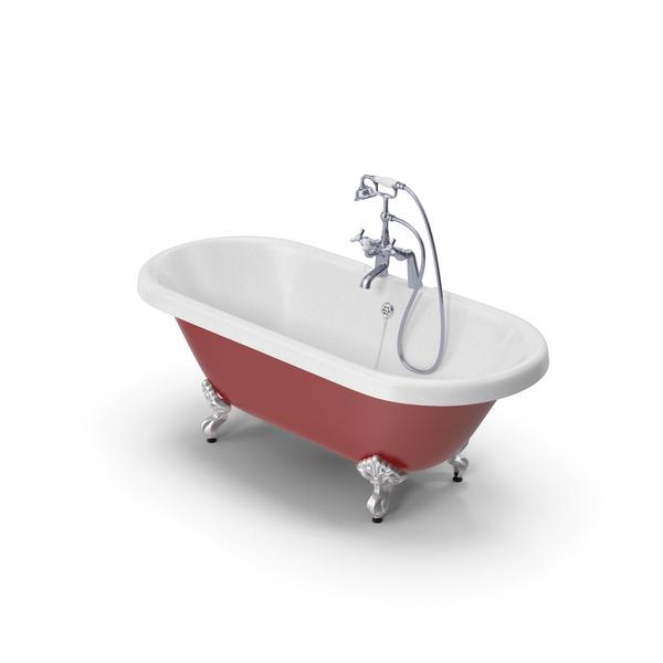 Bath: Traditional Bathtub PNG & PSD Images