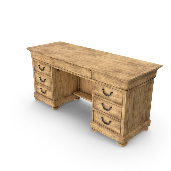 Desk: Traditional Credenza PNG & PSD Images