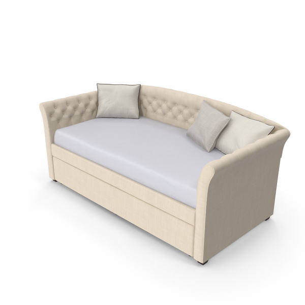 Divan: Traditional Daybed PNG & PSD Images