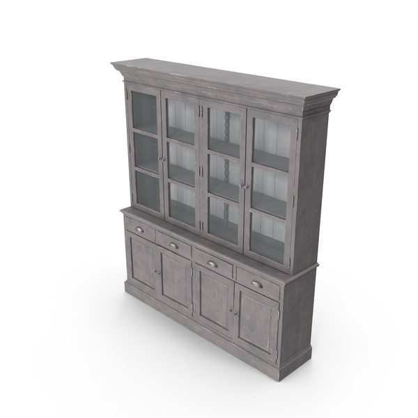 Traditional Display Cabinet PNG & PSD Images