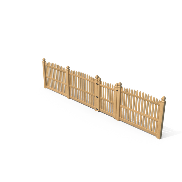 Traditional Fencing Palisade Pointed Pales PNG & PSD Images
