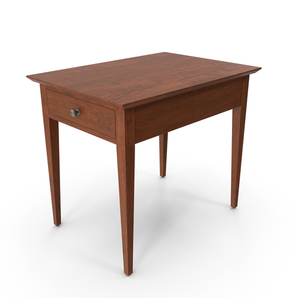 Traditional Side Table PNG & PSD Images