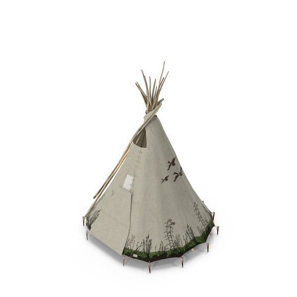 Teepee: Traditional Tipi PNG & PSD Images