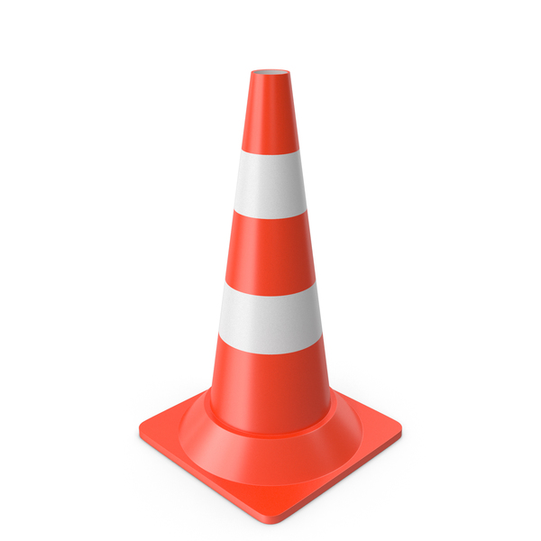 Traffic Cone Medium PNG & PSD Images