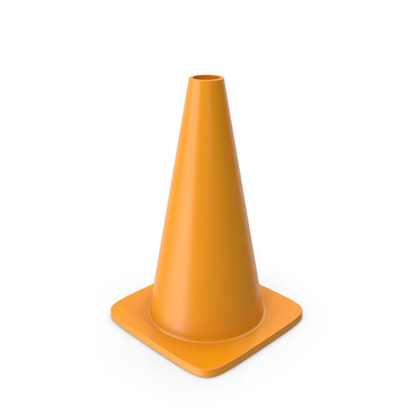 Traffic Cone Orange PNG & PSD Images