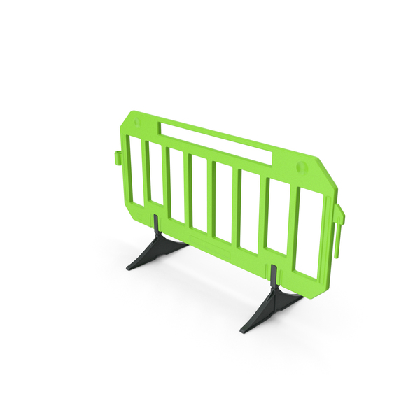 Street Elements: Traffic Crowd Barrier PNG & PSD Images