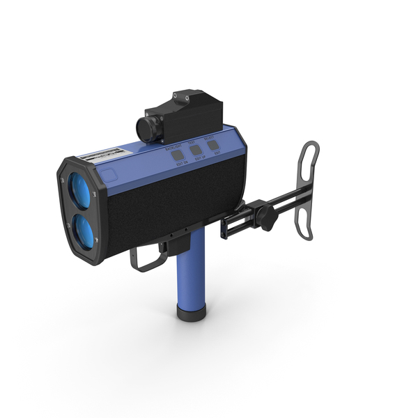 Traffic Laser Speed Gun PNG & PSD Images