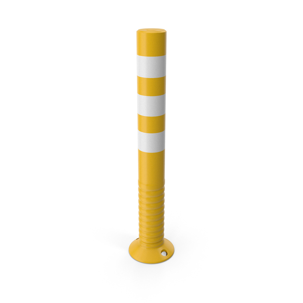 Traffic Post Yellow PNG & PSD Images