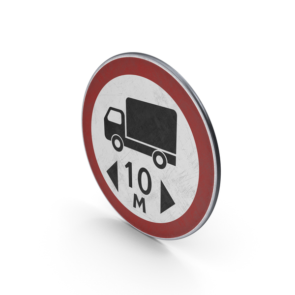 Traffic Sign Length Limit PNG & PSD Images