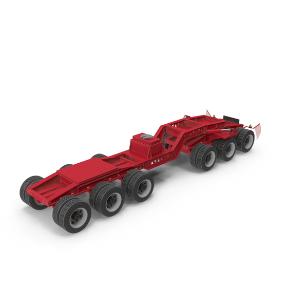 Trail King Jeep 6 Axle 02 PNG & PSD Images