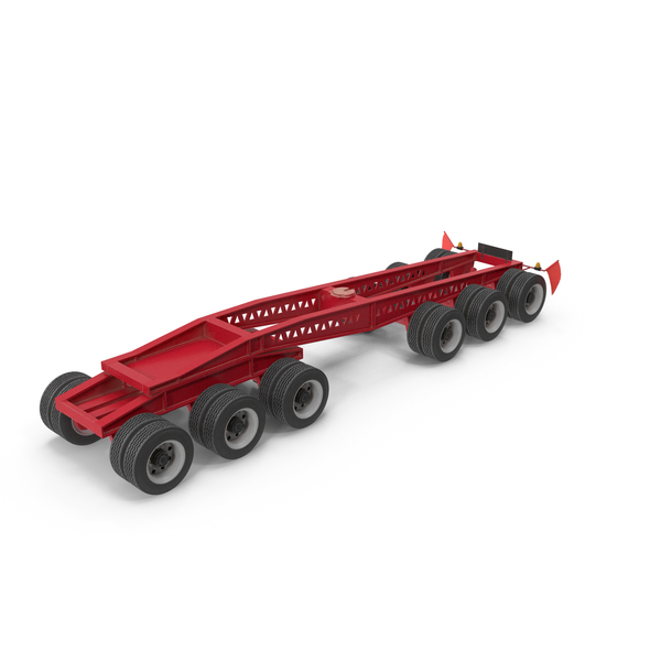 Semi Trailer: Trail King Jeep 6 Axle PNG & PSD Images