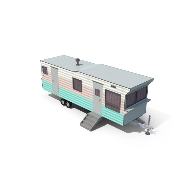 Portable Building: Trailer Home PNG & PSD Images