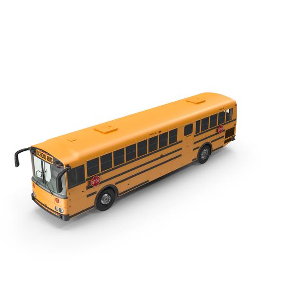 Transit School Bus PNG & PSD Images