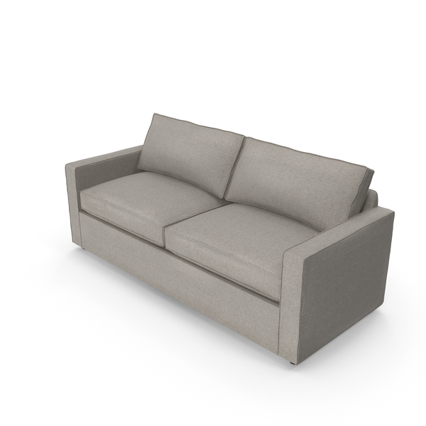 Transitional 2 Seater Sofa PNG & PSD Images